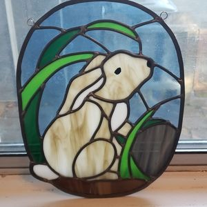 Beautiful Bunny Stainglass